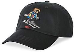 Polo Ralph Lauren Men's Ski Bear Cotton Sport Cap