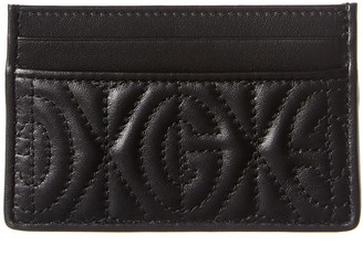 Gucci Embossed Leather Card Case