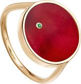 Astley Clarke Ruby mars 14ct gold ring