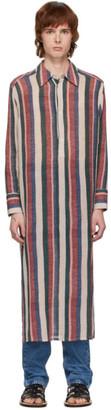 Loewe Multicolor Stripe Long Tunic Shirt