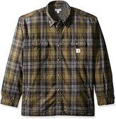 Carhartt Men's Big & Tall Hubbard Sherpa Lined Shirt Jacket
