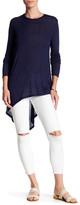 BCBGMAXAZRIA Shae Knit Hi-Lo Shirt