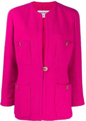 Chanel Pre-Owned 1980s multi-pockets boxy jacket