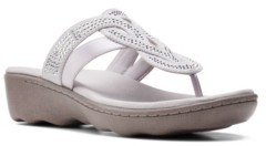 Clarks Collection Women's Phebe Drum Wedge Sandals Women's Shoes
