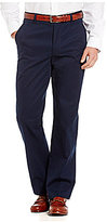 Brooks Brothers Clark Fit Flat-Front Pieced Dyed Chino Pants