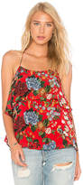 Alice + Olivia Marybeth Cami in Red. - size L (also in M,S,XS)