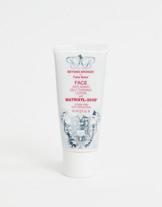 Fake Bake Fakebake beyond bronze 2oz face tan cream with matrixyl-White