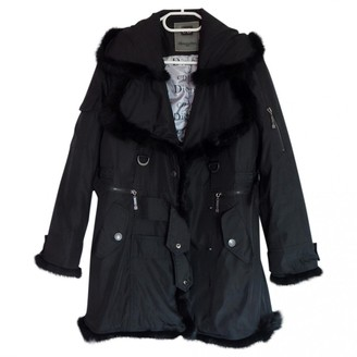 Christian Dior Black Cotton Coat for Women Vintage