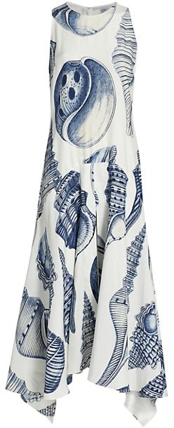 Thumbnail for your product : Stella McCartney Anabelle Silk Midi Dress