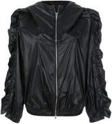 Sonia Rykiel frill sleeve hooded jacket