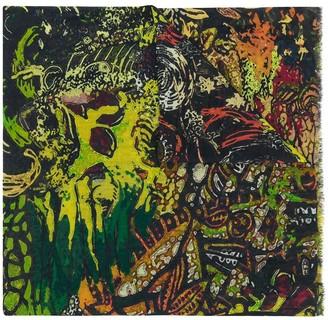 Faliero Sarti Bayo abstract-print cotton scarf