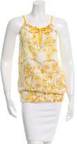 Gucci Printed Sleeveless Top