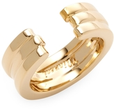 Miansai Women's Layered Ring, Gold Plated, Polished, 6