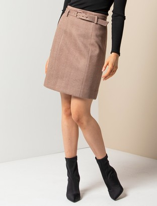 Ever New Ruth Belted Mini Skirt