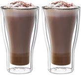 Luigi Bormioli Thermic Borosilicate Double-Wall Insulated Latte Macchiato Cups (Set of 2)