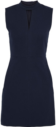 Tibi Cutout Cady Mini Dress