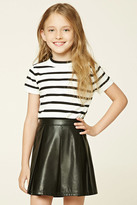 Forever 21 FOREVER 21+ Girls Striped Tee (Kids)