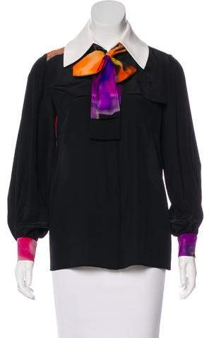 Chanel 2015 Silk Blouse