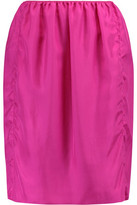Lanvin Silk Mini Skirt