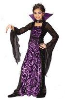 Fun World Costumes Countess Of Darkness Ch Lg Halloween Costume - Child Large