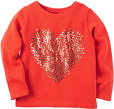 Carter's Girls Long Sleeve T-Shirt-Preschool
