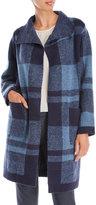 Avalin Plaid Wrap Coat