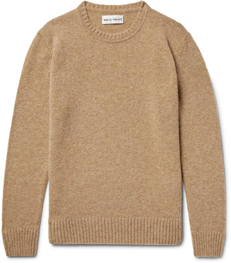 Salle Privée Aren Melange Shetland Wool Sweater