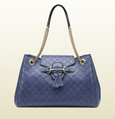 Gucci Emily Guccissima Leather Shoulder Bag