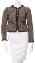 Tory Burch Tweed Cropped Jacket