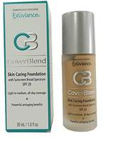 Exuviance CoverBlend Skin Caring Foundations SPF 20 True Beige by