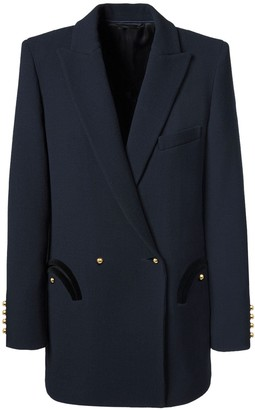 Blaze Wool & Cotton Double Breast Blazer