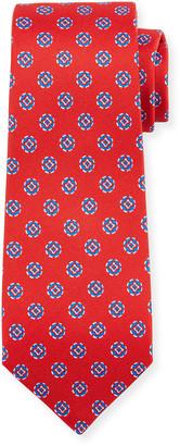 Kiton Men's Circles Silk Tie