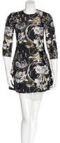 Christian Dior Floral Brocade Mini Dress