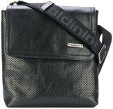 Baldinini perforated design messenger bag