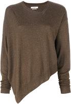 Etoile Isabel Marant Kelia asymmetric sweater