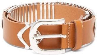 Isabel Marant Tehora Leather Belt - Tan