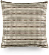 "Hotel Collection Modern Geo Stripe 18"" Square Decorative Pillow, Created for Macy's"
