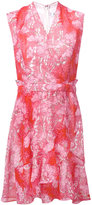 Carven floral lace detailed dress - women - Silk/Acetate - 36