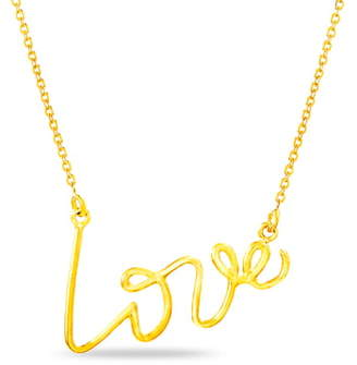 Lesa Michele Love Necklace