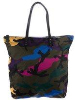 Valentino Camouflage Shopper Tote w/ Tags