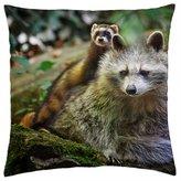 "iRocket - Savage Friends - Throw Pillow Cover (20"" x 20"", 50cm x 50cm)"