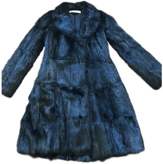 Marni Black Fur Coat for Women