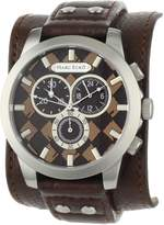 Ecko Unlimited Men's E14539G4 Leather Quartz Watch with Dial