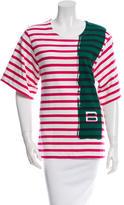 Balenciaga Striped Short Sleeve T-Shrit
