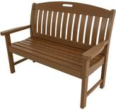 All-Weather Avalon Porch Bench - White