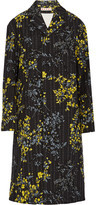 Marni Printed cotton, wool and silk-blend twill coat