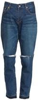 Sacai Distressed Straight-Leg Jeans
