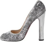 Christian Louboutin Tinsel Pointed-Toe Pumps