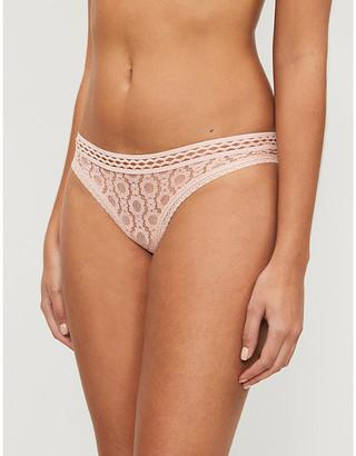 Stella McCartney Mia Remembering low-rise lace bikini briefs