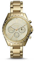 Fossil Modern Courier Chronograph Gold-Tone Stainless Steel Watch